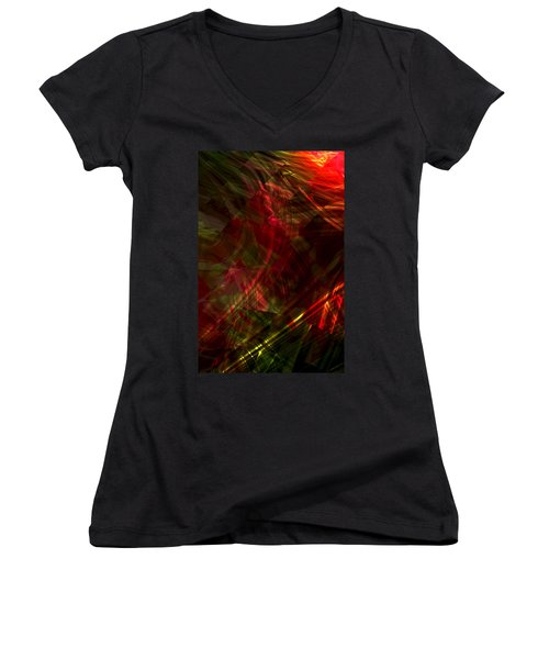 Urgent Orbital Women's V-Neck T-Shirt