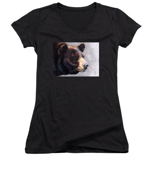 Ursa Major Women's V-Neck T-Shirt (Junior Cut) by J W Baker