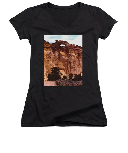 Utah Arch Women's V-Neck