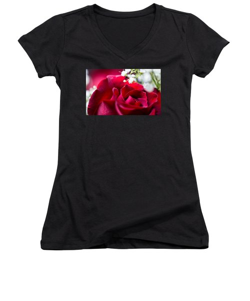 Valentine Women's V-Neck T-Shirt