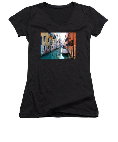 Venetian Calm Women's V-Neck T-Shirt