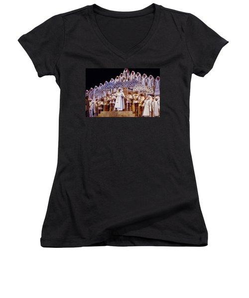 Verdi Aida Women's V-Neck T-Shirt