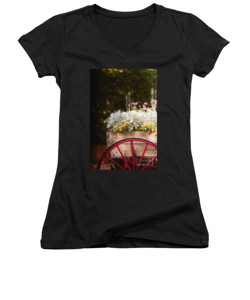 Vintage Beauties For Sale Women's V-Neck (Athletic Fit)