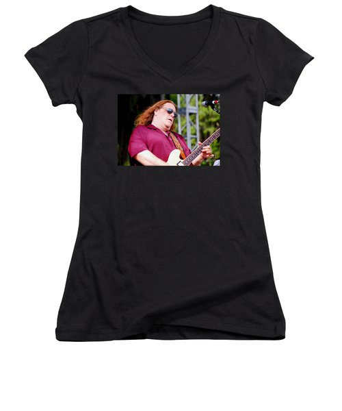 Warren Haynes Women's V-Neck T-Shirt