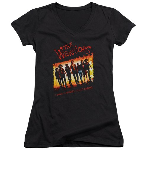 Warriors - One Gang Women's V-Neck (Athletic Fit)