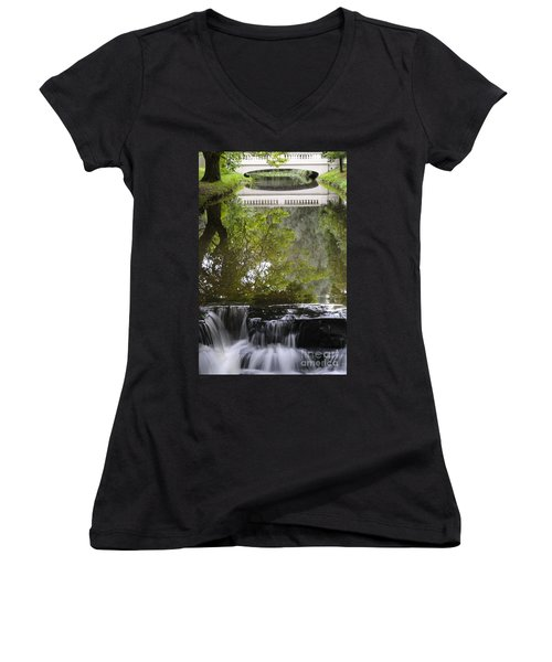 Water Reflection Women's V-Neck