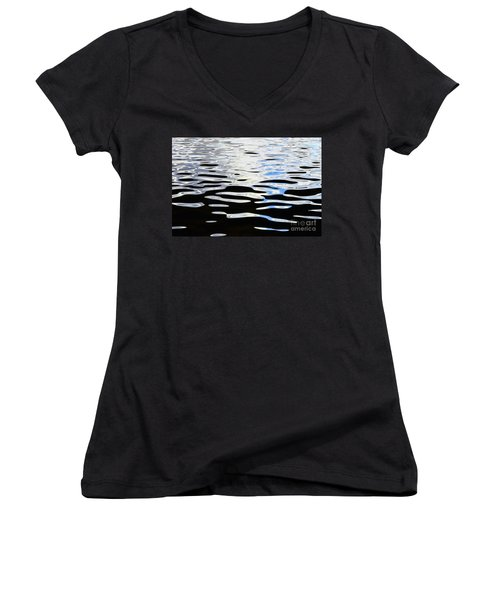 Water Reflections 1 Women's V-Neck
