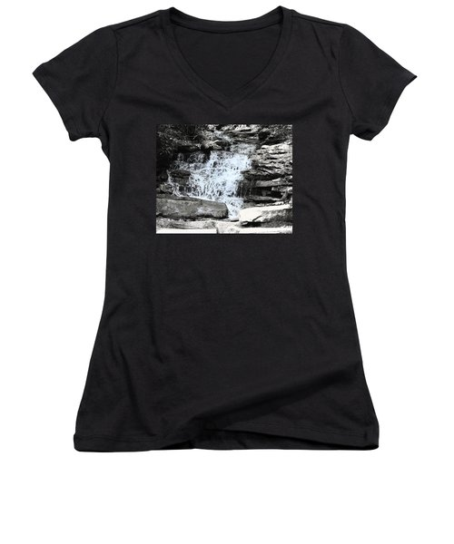 Waterfall 3 Women's V-Neck