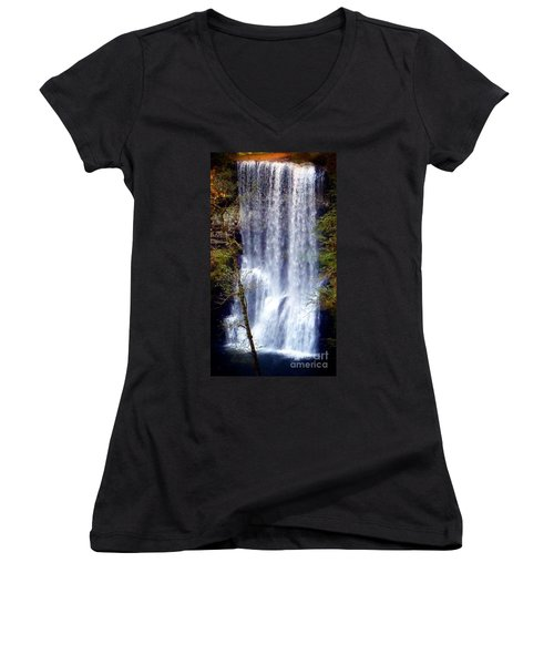Waterfall South Women's V-Neck T-Shirt