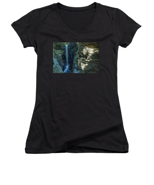 Watkins Glen Women's V-Neck T-Shirt