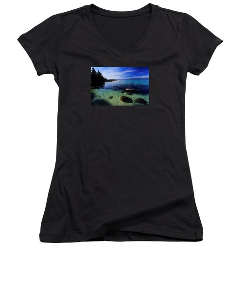 Welcome To Bliss Beach Women's V-Neck