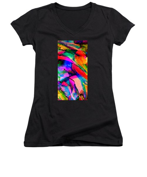 Welcome To My World Triptych Part 1 Women's V-Neck