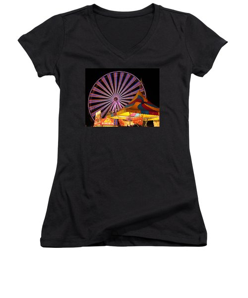 Welcome To The Nys Fair Women's V-Neck T-Shirt