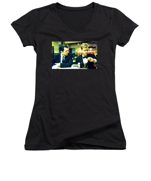 What's The Time Stanley 2013 Women's V-Neck T-Shirt