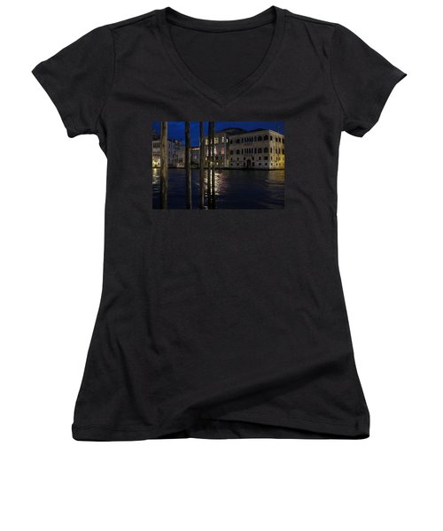 Where Time Stands Still Women's V-Neck (Athletic Fit)