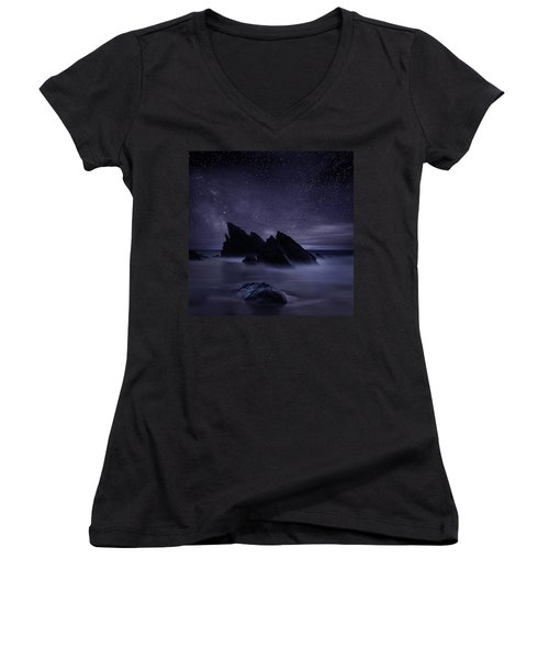 Whispers Of Eternity Women's V-Neck (Athletic Fit)