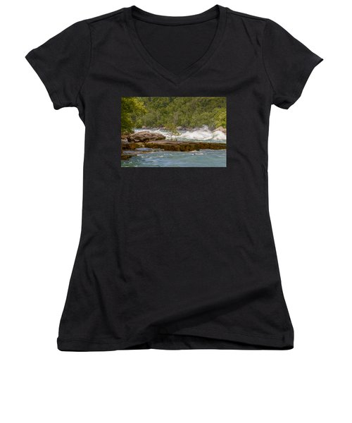 White Water Women's V-Neck