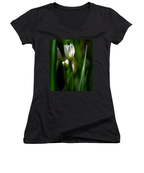 Wildflower Women's V-Neck (Athletic Fit)