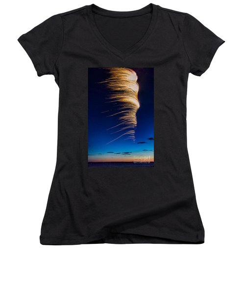 Wind As Light Women's V-Neck (Athletic Fit)