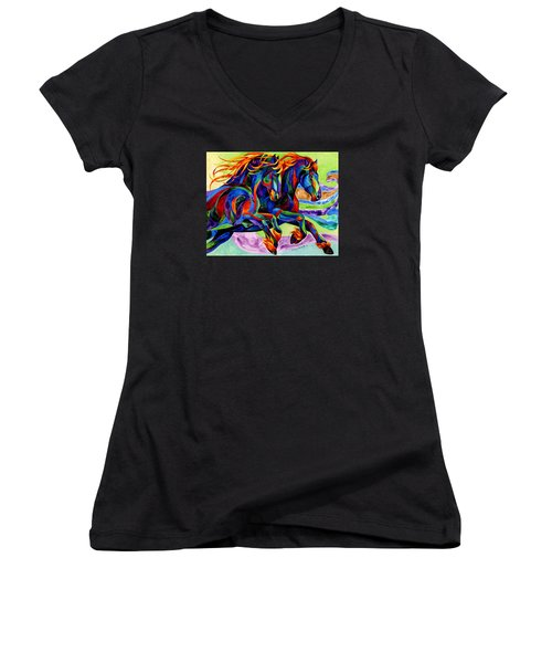 Wind Dancers Women's V-Neck (Athletic Fit)