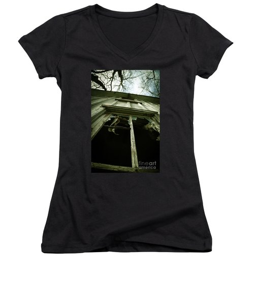 Window Tales Women's V-Neck