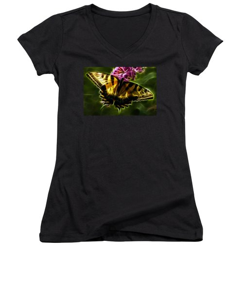 Winged Beauty Women's V-Neck T-Shirt
