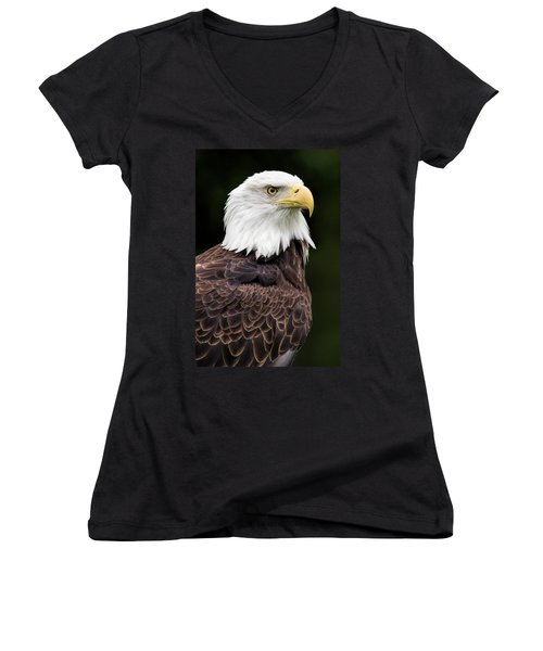 Women's V-Neck featuring the photograph With Dignity by Dale Kincaid