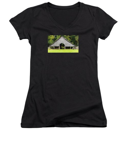 Yesterdays Barn Women's V-Neck T-Shirt