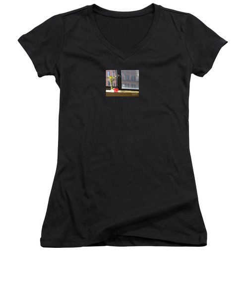 Yoga In The Sun Women's V-Neck (Athletic Fit)