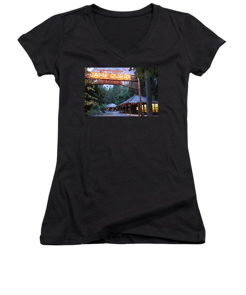 Yosemite Curry Village Women's V-Neck
