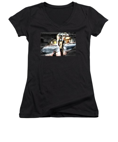 Critics Women's V-Neck T-Shirt