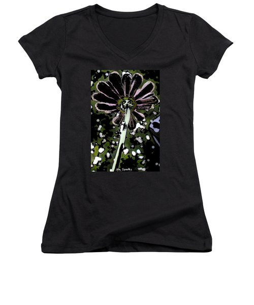 Been Spotted Women's V-Neck T-Shirt
