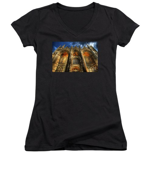Peterborough Cathedral Women's V-Neck