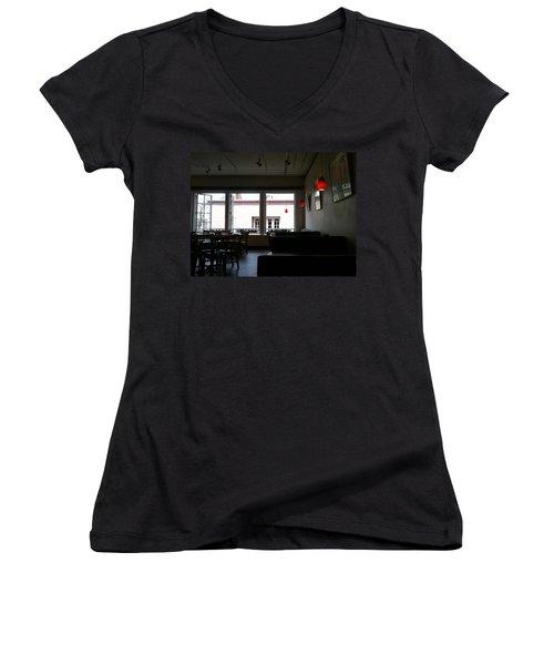 Santa Fe Eatery Women's V-Neck T-Shirt