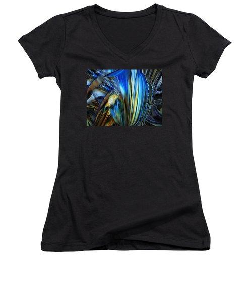 Wealth Weary Women's V-Neck T-Shirt