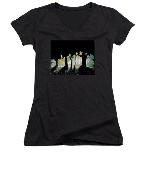 ... Women's V-Neck T-Shirt
