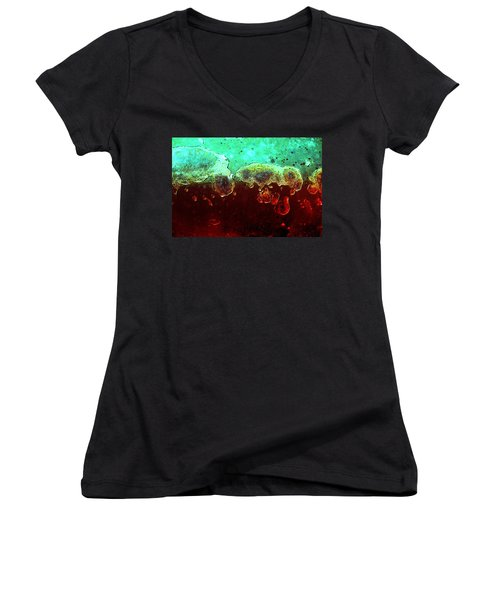 Abstract1 Women's V-Neck