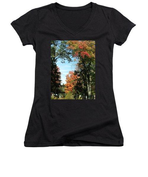 All The Trees Women's V-Neck T-Shirt