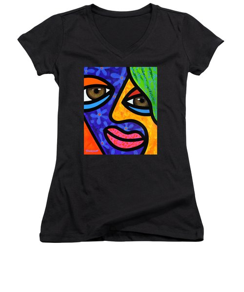 Aly Alee Women's V-Neck T-Shirt