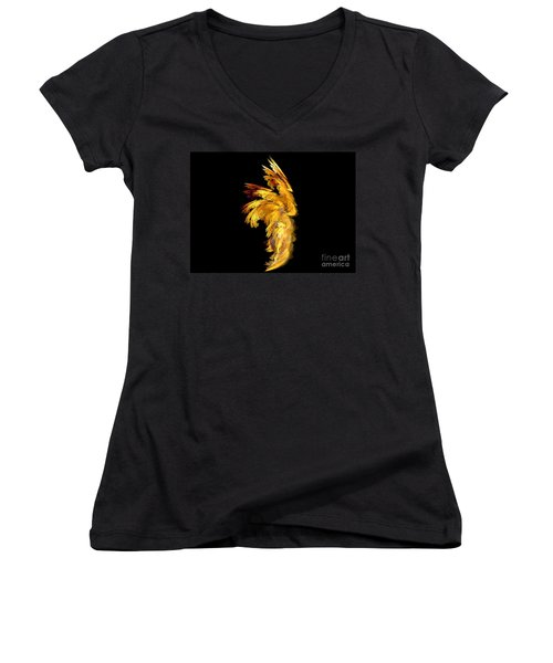 Angel Wings 1 Women's V-Neck T-Shirt