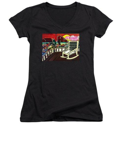Barnyard Women's V-Neck T-Shirt