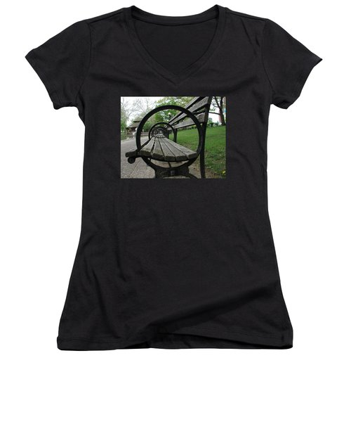 Bench Women's V-Neck (Athletic Fit)