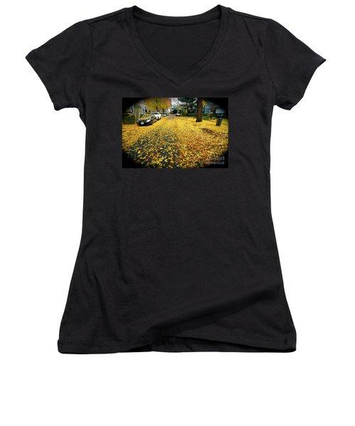 Brooklyn New York Women's V-Neck T-Shirt