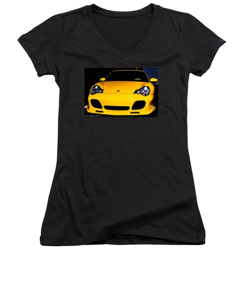 Carrera 4s Women's V-Neck (Athletic Fit)