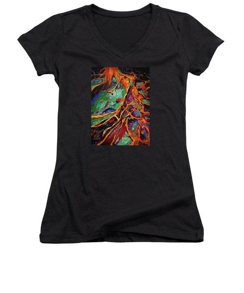 Cedar Roots Women's V-Neck T-Shirt