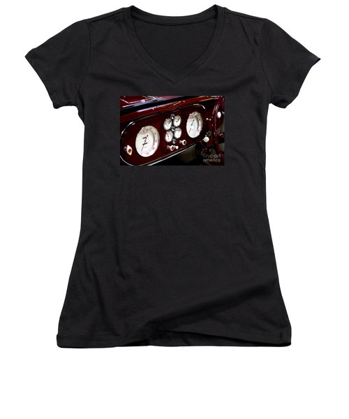 Classic Gauges Women's V-Neck T-Shirt