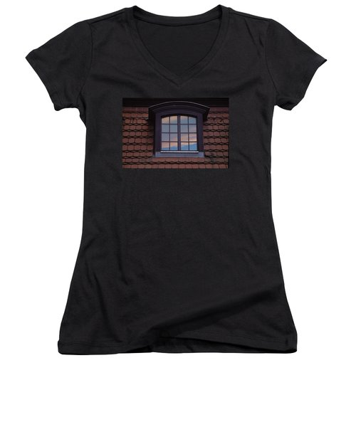 Cloud Reflections Women's V-Neck