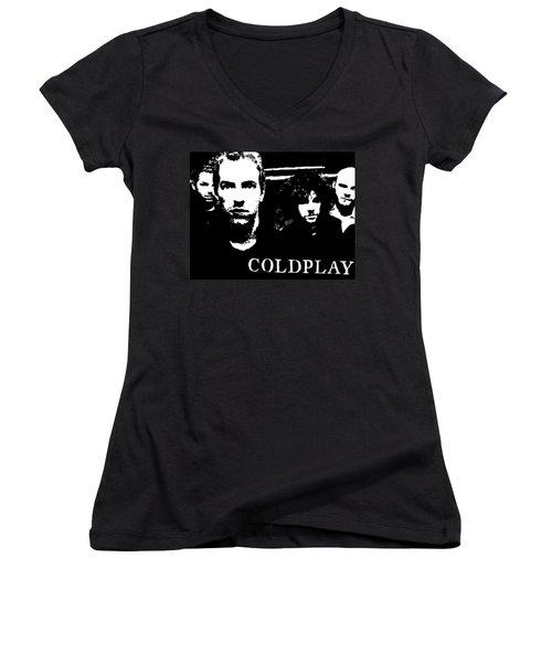 Coldplay Women's V-Neck T-Shirt