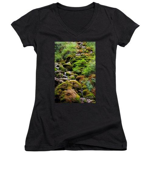 Women's V-Neck T-Shirt (Junior Cut) featuring the photograph Colorado 3 by Deniece Platt