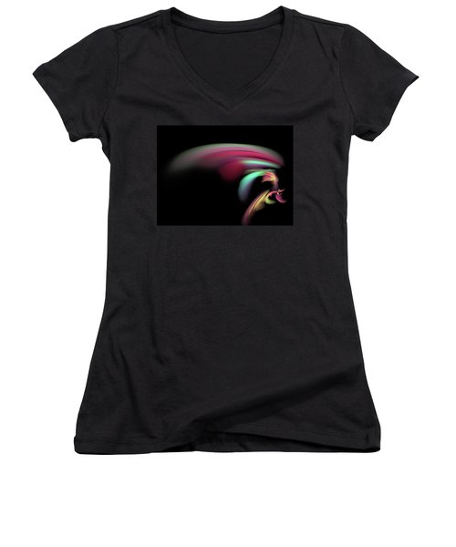 Colorful Flash Women's V-Neck (Athletic Fit)